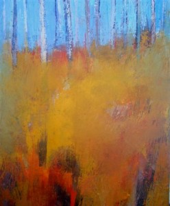 """"""" The Clearing"""" (ii) by Cormac O'Leary at the Chimera Gallery, Mullingar, Co Westmeath, Ireland"""