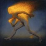 "Fire Spirit"" by Conor Walton at the Chimera Gallery, Mullingar, Co Westmeath, Ireland"