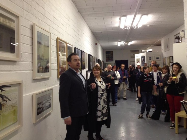 Official opening of The Chimera Gallery, Mullingar - Saturday 1st March 2014