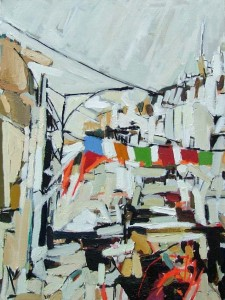 'Delhi' by Colin Taylor at the Chimera Gallery, Mullingar,Co Westmeath, Ireland