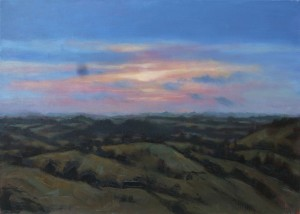 'Loughcrew' by Dave West at the Chimera Gallery., Mullingar, Co Westmeath , Ireland