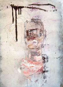 Media Consumption' by Khara Oxier at the Chimera Gallery, Mullingar, Co Westmeath, Ireland