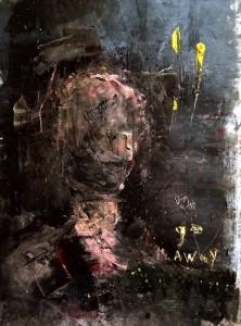 Khara Oxier at the Chimera gallery, Mullingar, Co Westmeath , ireland