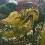 "'Sheepfry Hills"" by Neal Greig at the Chimera Gallery, Mullingar, Co Westmeath, Ireland"