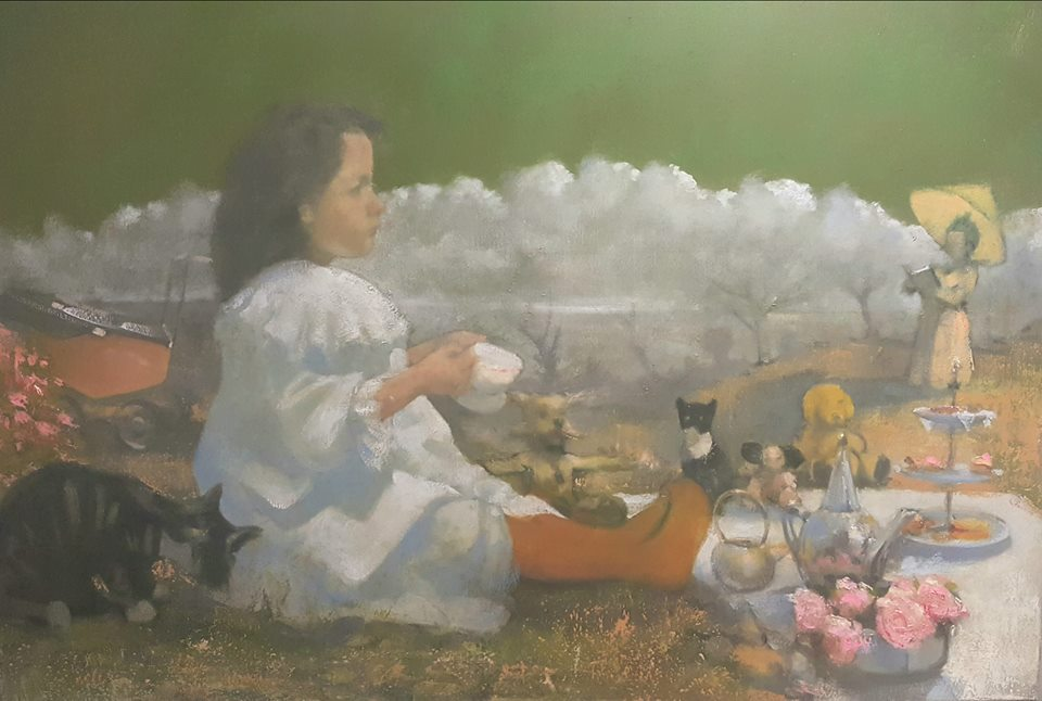 'Story time' by Philip Lindey at the Chimera Gallery, Mullingar, Co Westmeath , Ireland