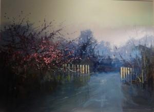 'Dappled Pink' Kate Beagan at the Chimera Gallery, Mullingar, Co Westmeath, Ireland