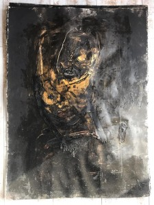 'Dream in Black' by Khara Oxier at the Chimera Gallery , Mullingar, Co Westmeath , Ireland
