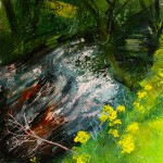 """River at Ballinglen"""" by Neal Greig at the Chimera Gallery, Mullingar, Co Westmeath, Ireland"""
