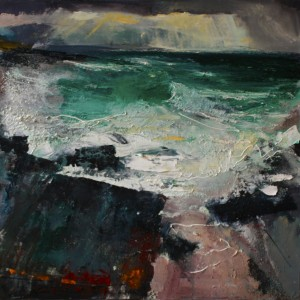 """Coney Island"" by Neal Greig at the Chimera Gallery, Mullingar,Co Westmeath,Ireland"