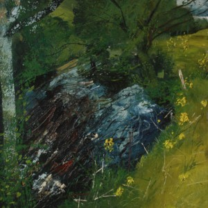 """""""Ballinglen River"""" by Neal Greig at the Chimera Gallery, Mullingar, Co Westmeath, Ireland"""