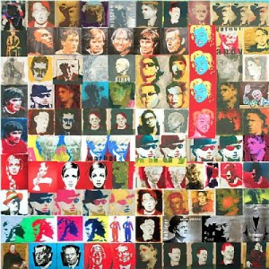 """""""A Thousand Faces"""" by Jonathan Aiken at the Chimera Gallery, Mullingar, Co Westmeath, Ireland"""