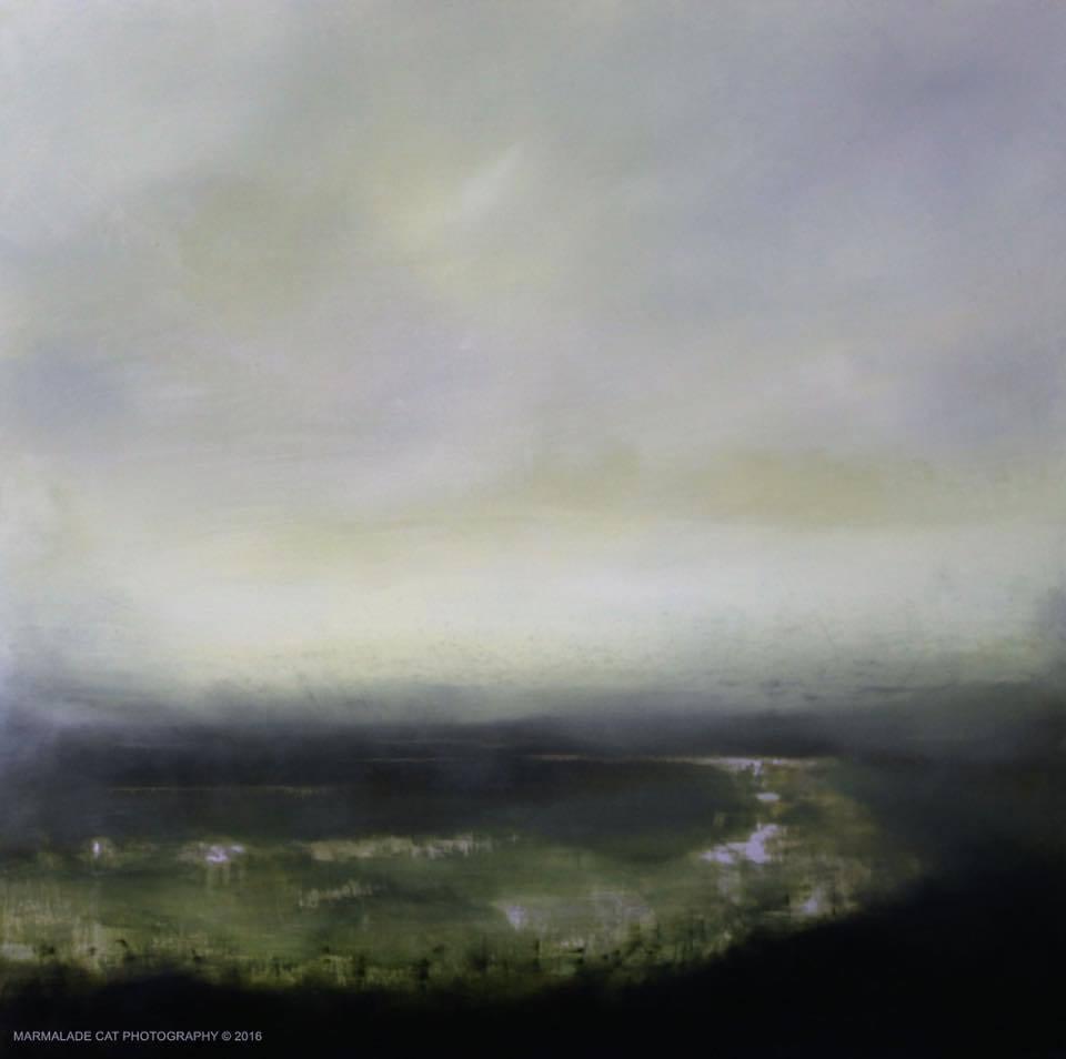"""Mayo Marshlands"" by Daniel Chester at the Chimera Gallery , Mullingar, Co Westmeath, Ireland"