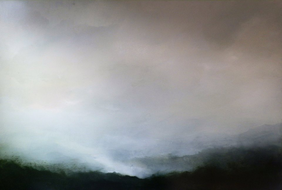 """""""Under the Ridge"""" by Daniel Chester at the Chimera Gallery, Mullingar, Co Westmeath , Ireland."""