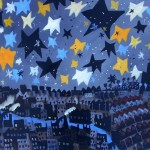 "'Stars and Blue River"" by Glenn Brady at the Chimera Gallery, Mullingar, Co Westmeath, Ireland"