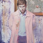 'Pink Coat' by Shane Berkery at the Chimera gallery, Mullingar, Co Westmeath, Ireland