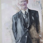 'Old Man on the hill' by Shane Berkery at the Chimera Gallery, Mullingar, Co Westmeath , Ireland