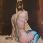 """Cold Feet"" by Shane Berkery at the Chimera Gallery, Mullingar, Co Westmeath , Ireland"