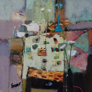 James Fraser at the Chimera Gallery, Mullingar, Co Westmeath, Ireland