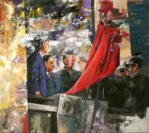 Sorin Dumitrescu at the Chimera Gallery, Mullingar, Co Westmeath, Ireland