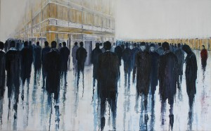 'Outsider' by Lesley Oldaker at the Chimera Gallery, Mullingar , Co Westmeath, Ireland.