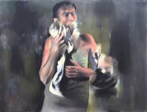 Dan Arcus at the Chimera Gallery, Mullingar, Co Westmeath, ireland.