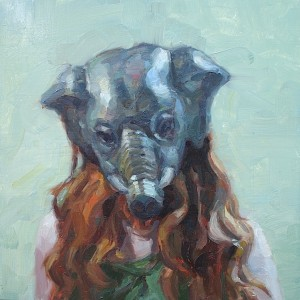 'Elephant Woman' by Jennifer Balkan at the Chimera Gallery, Mullingar, Co Westmeath, Ireland