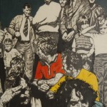 'County Final Day ' by Lorcan Vallely at the Chimera Gallery, Mullingar, Co Westmeath , Ireland