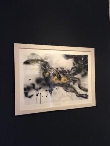 Margo Banks at the Chimera Gallery, Mullingar , Co Westmeath, Ireland