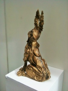 'Rabbit' by Elizabeth Lartey at the Chimera Gallery, Mullingar, Co Westmeath, Ireland