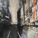 'Silver New York Ill' by Jose Martinez at the Chimera Gallery, Mullingar, Co Westmeath, Ireland