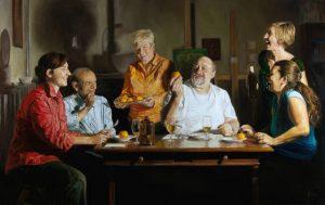 Paolo Borile at the Chimera Gallery , Mullingar, Co Westmeath, Ireland