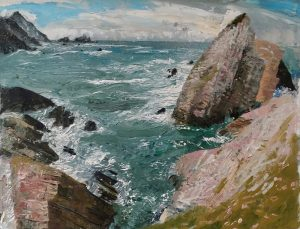 Port Co Donegal' by Neal Greig at the Chimera Gallery, Co Westmeath, Ireland
