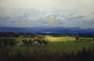 'Autumn returns to the Valley' by Kate Beagan at the Chimera Gallery, Mullingar , Co Westmeath, Ireland