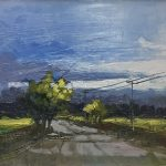 'Along a narrow Road' by Kate Beagan at the Chimera Gallery, Mullingar , Co Westmeath, Ireland