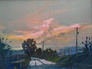 'Pink in the Morning' by Kate Beagan at the Chimera Gallery , Mullingar , Co Westmeath, Ireland