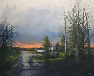 'Setting Sun' by Kate Beagan at the Chimera Gallery, Mullingar, Co Westmeath, Ireland