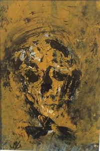 'Head'(1) by John Kingerlee at the Chimera Gallery, Mullingar, Co Westmeath , Ireland