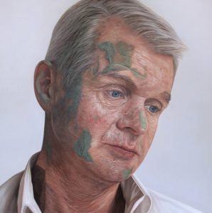 'Commandant Colm McDaid' by Kyle Barnes at the Chimera Gallery, Mullingar, Co Westmeath, Ireland
