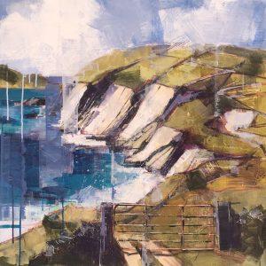 'Kerry Landscape' by Bridget Flinn at the Chimera Gallery, Mullingar, Co Westmeath, Ireland