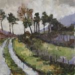 'Mountain Path' by Bridget Flinn at the Chimera Gallery, Mullingar, Co Westmeath, Ireland