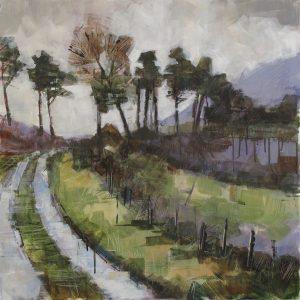 'Mountain Path' by Bridget Flinn at the Chimera Gallery, Mullingar, Co Westmeath, Ireland