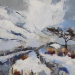 'Winter Landscape' by Bridget Flinn at the Chimera Gallery, Mullingar, Co Westmeath, Ireland