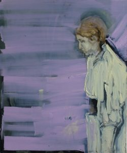 'Yellow Girl' by Conor Robertson at the Chimera Gallery Mullingar Co Westmeath Ireland