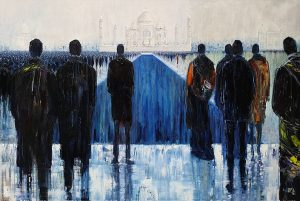 'A Womans Place' by Lesley Oldaker at the Chimera Gallery, Mullingar Co Westmeath, Ireland