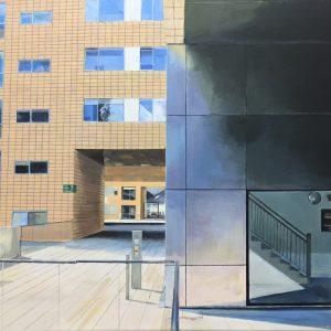 'Yield' Acrylic on Canvas' 60x50cm €700