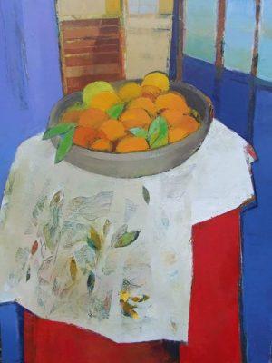 Auribeau Still Life Oil on Canvas 120x76cm €2500