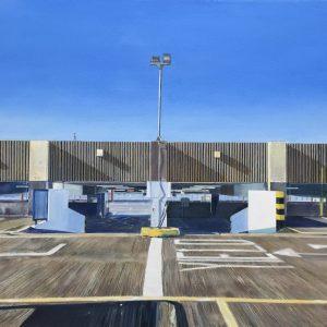 'Looking Back' Acrylic on Canvas 60x50cm €700