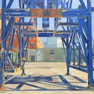 'Through the Frame' Acrylic on Canvas 76x60cm €795
