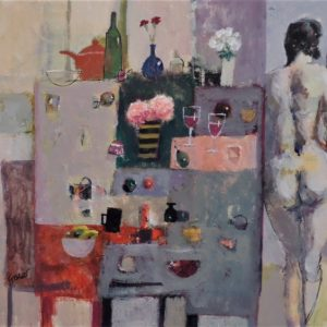 'Wine , Food and a Classical Nude' by James Fraser