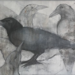 'Crows and Crow' by Sylvia Parkinson Brown €950